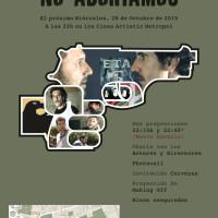 Estreno del cortometraje 'No abortamos'
