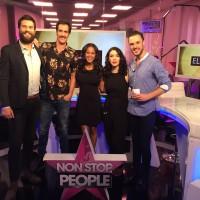 'Mi Última noche con Sara' visita el plató de Non Stop People