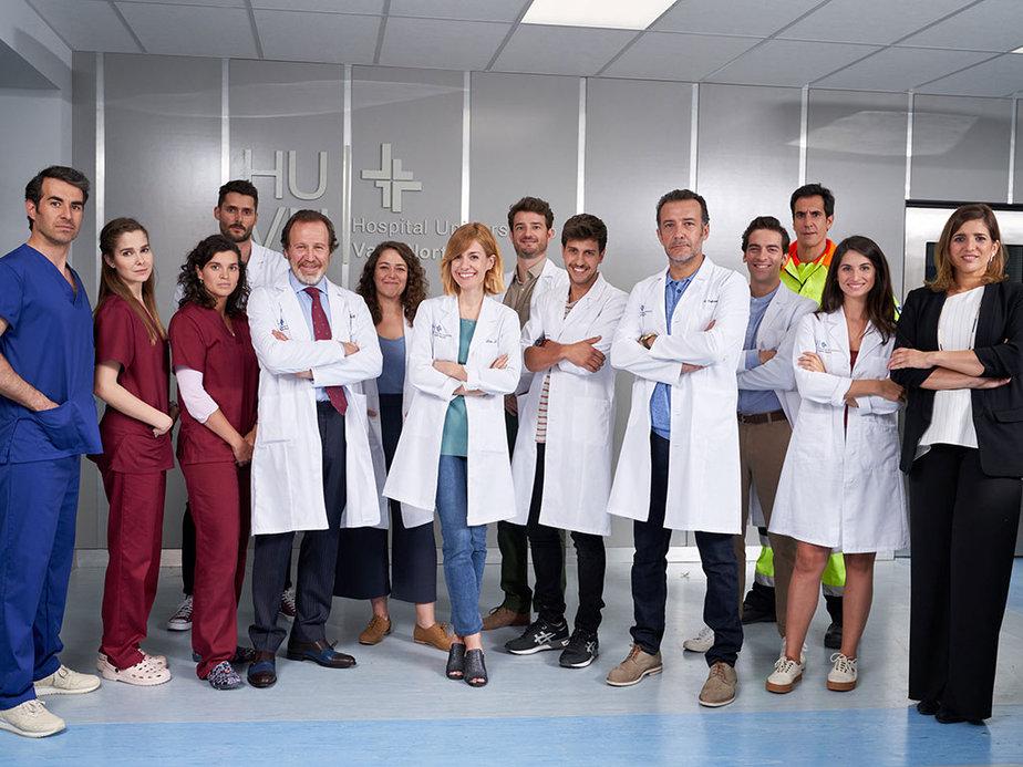 Rondando la serie 'Hospital Valle Norte'